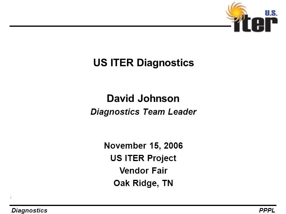 David Johnson Diagnostics Team Leader