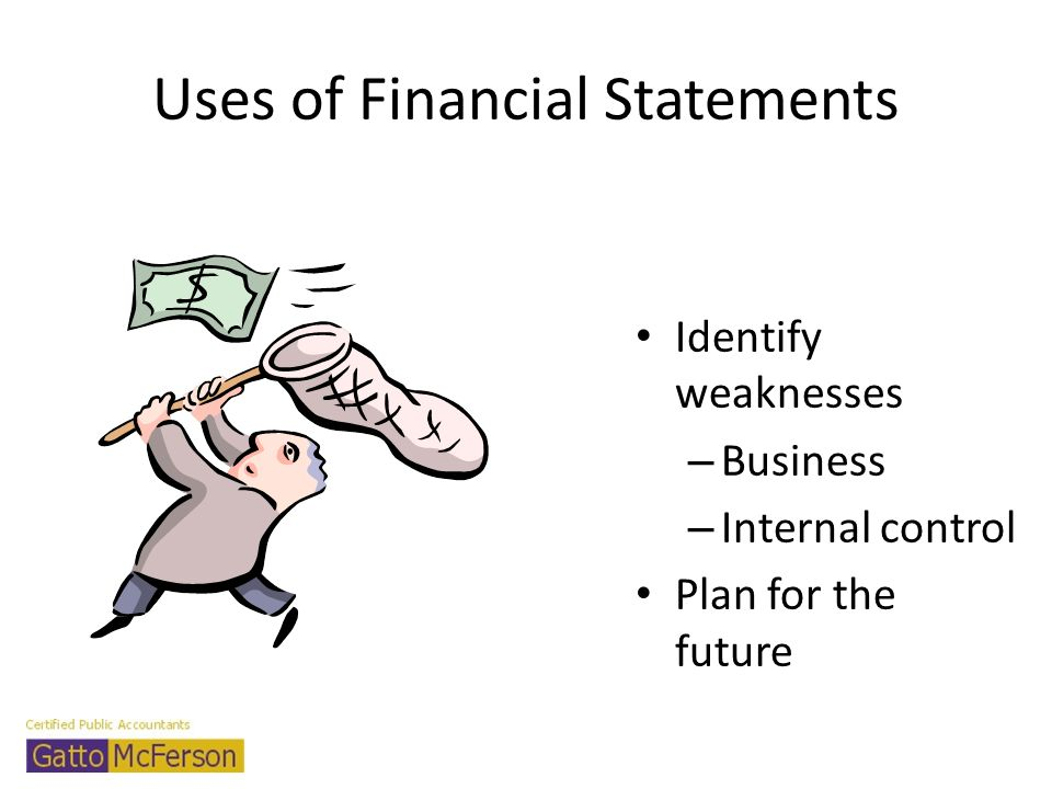 Uses of Financial Statements
