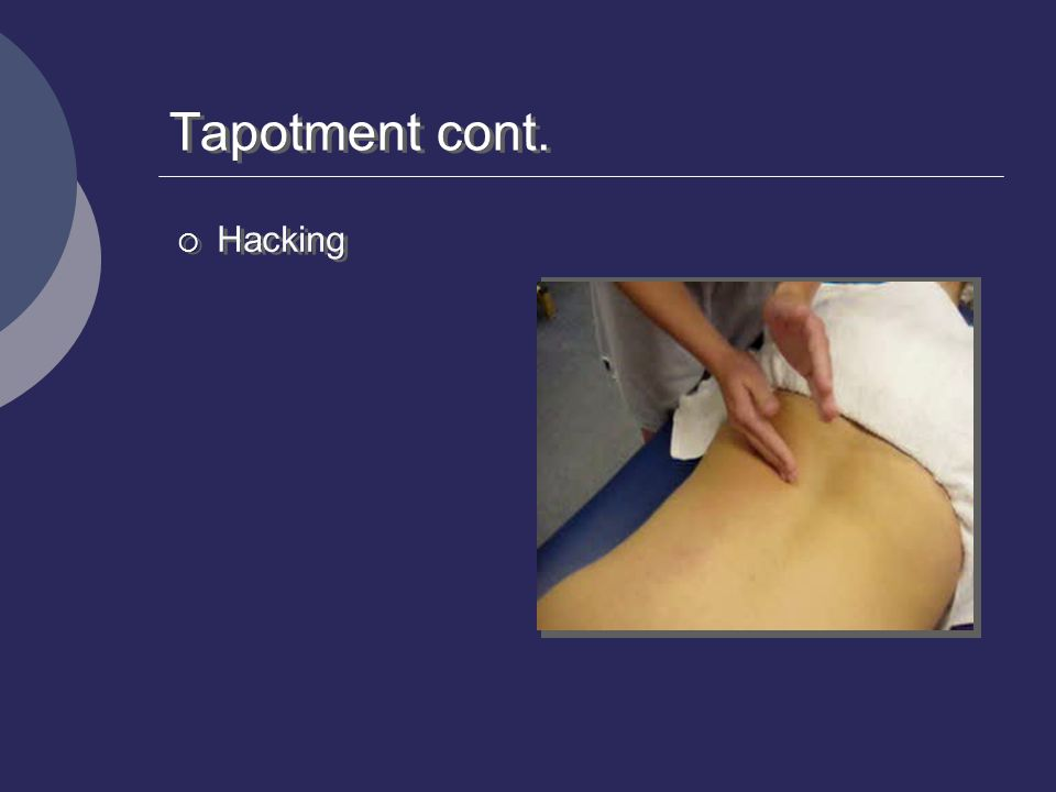 Tapotment cont. Hacking