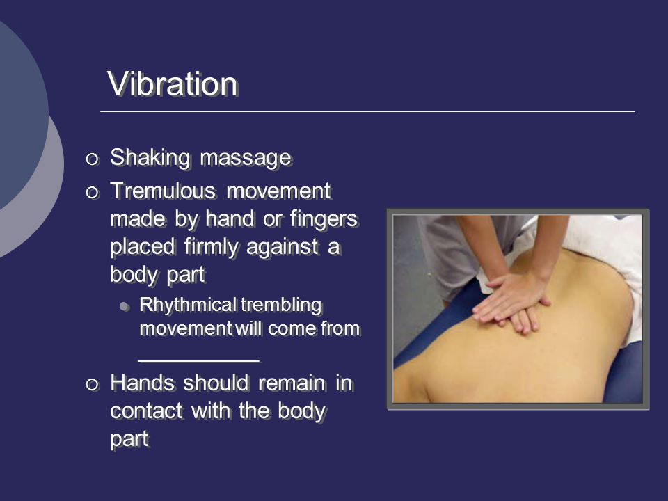 Vibration Shaking massage