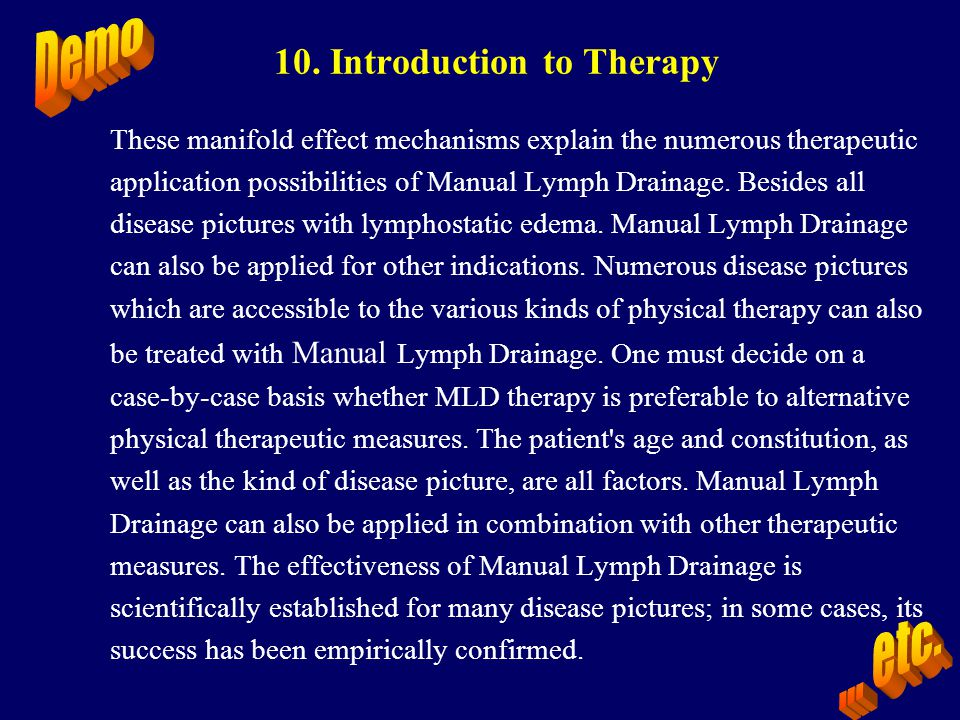 10. Introduction to Therapy