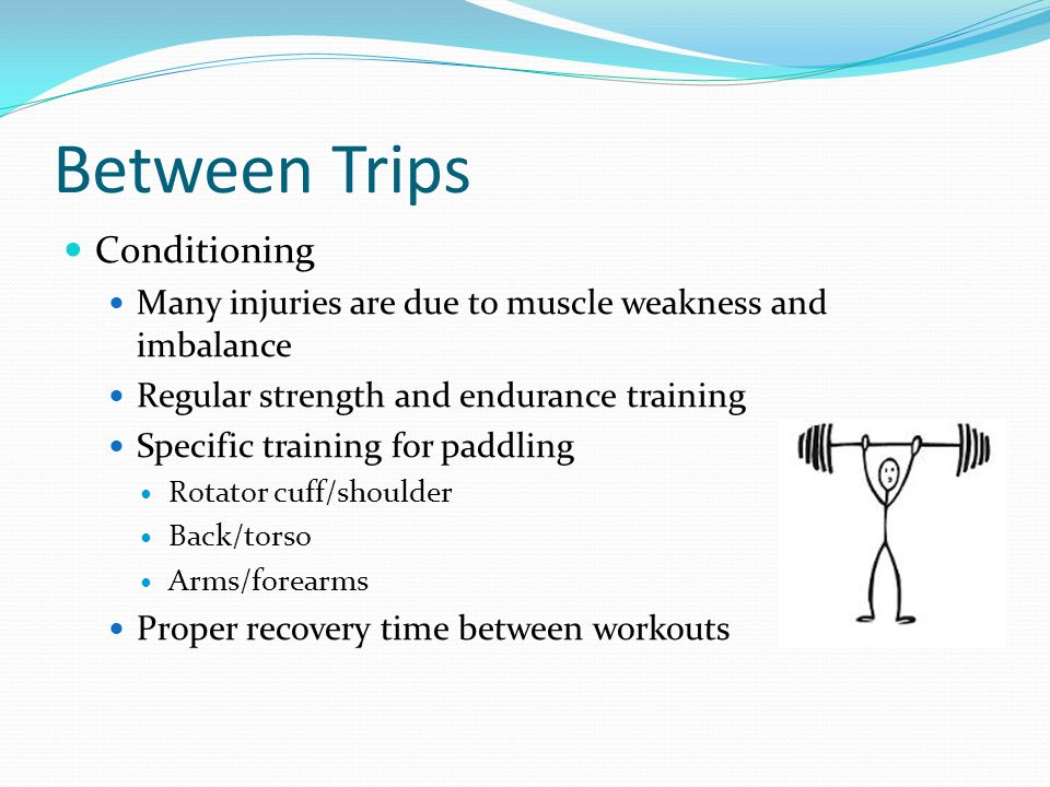 Between Trips Conditioning