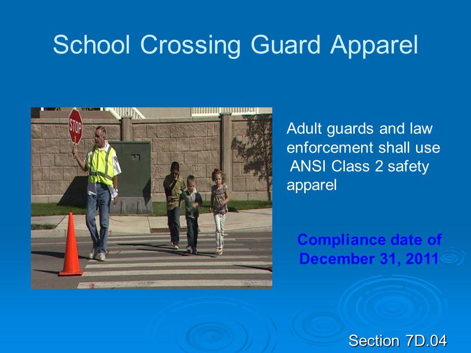 School Crossing Guard Apparel