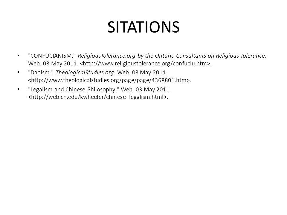 SITATIONS