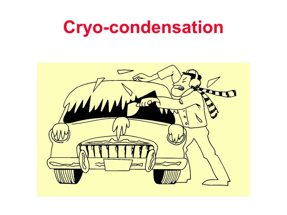 Cryo-condensation