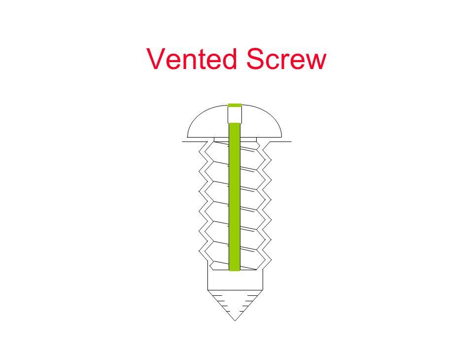 Vented Screw