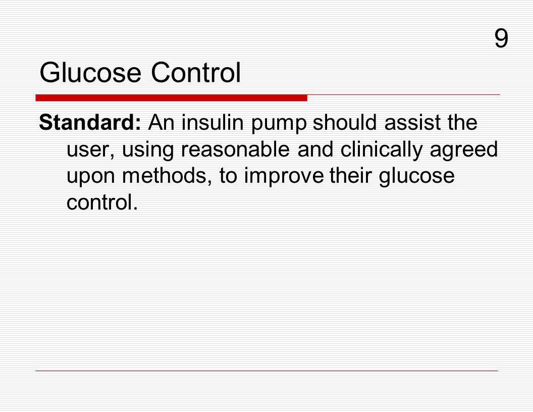 Glucose Control 9.