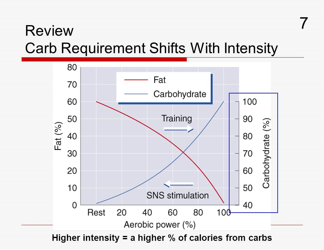 7 Review Carb Requirement Shifts With Intensity