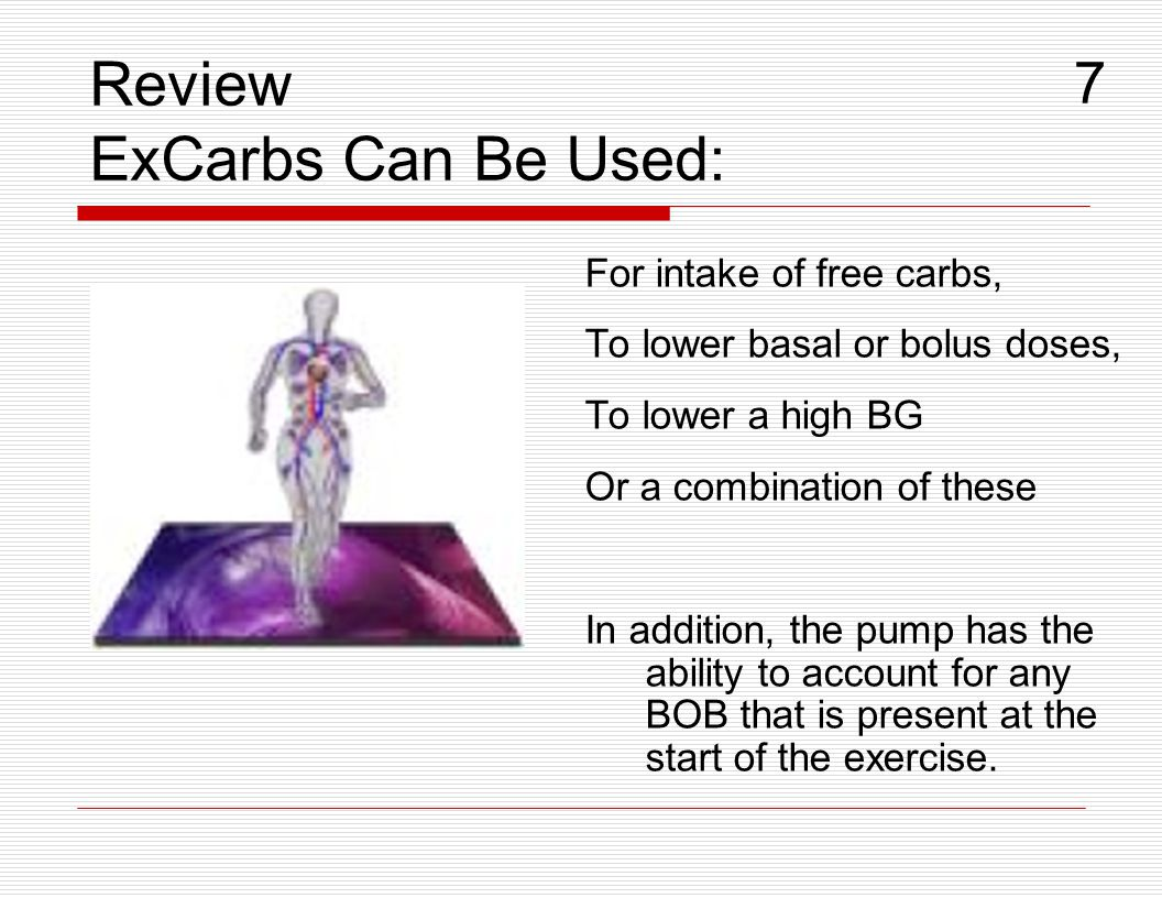 Review ExCarbs Can Be Used: