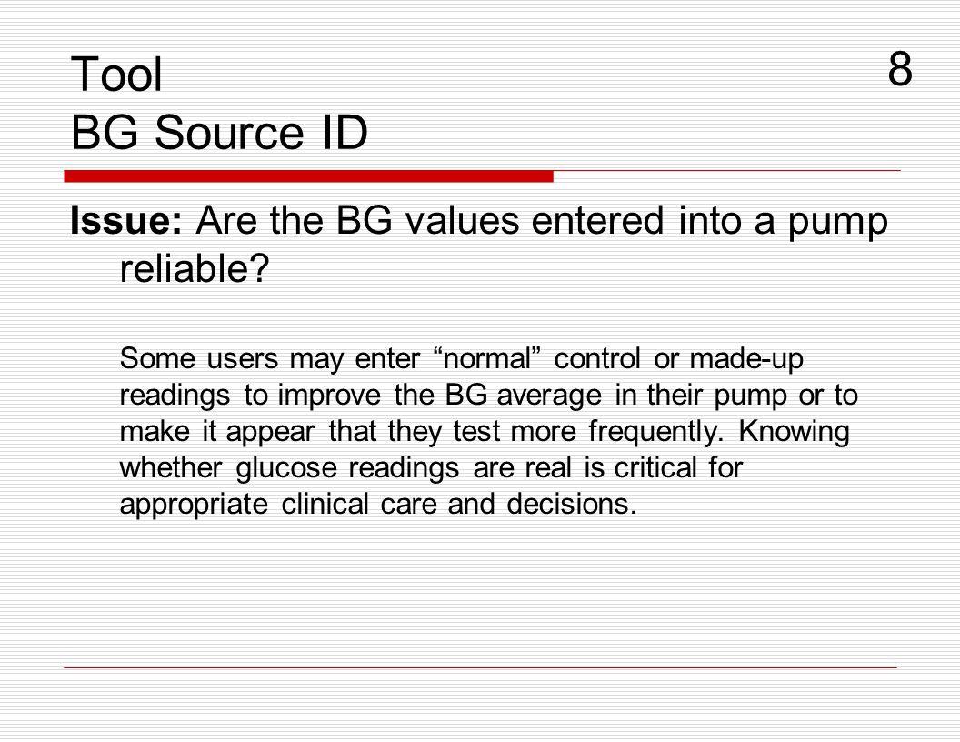 Tool BG Source ID 8.