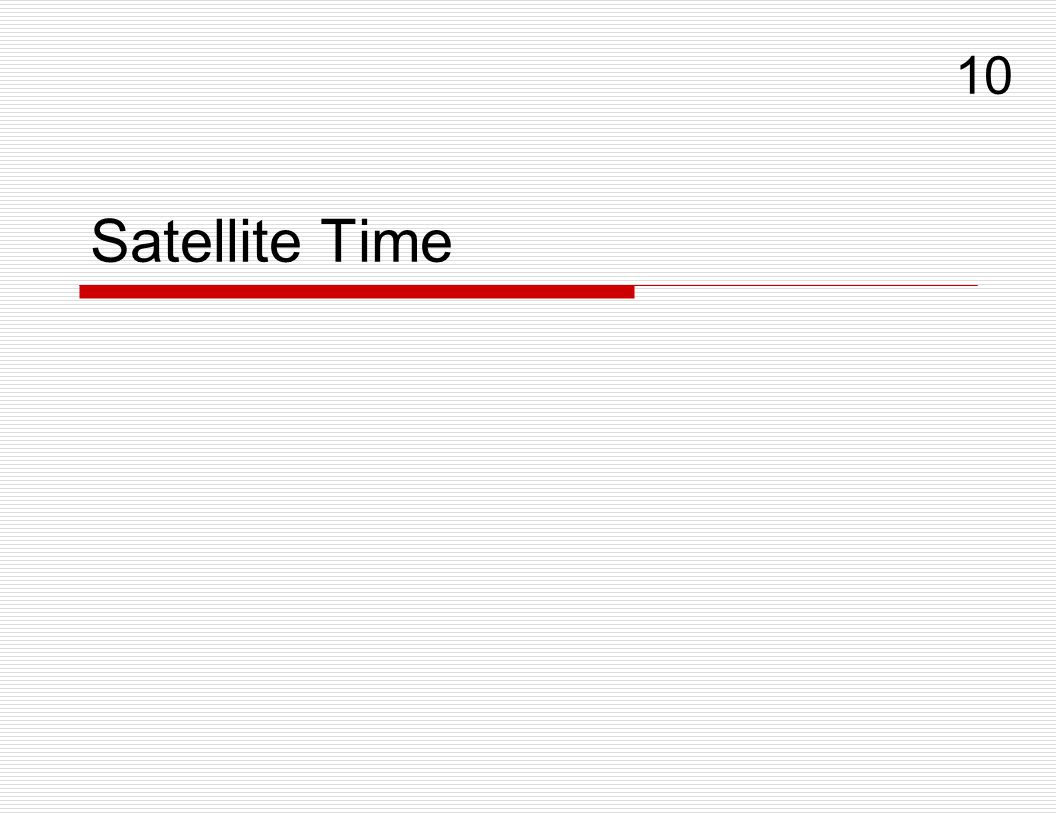 10 Satellite Time