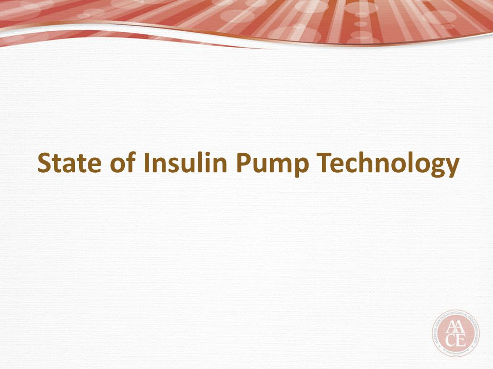 State of Insulin Pump Technology