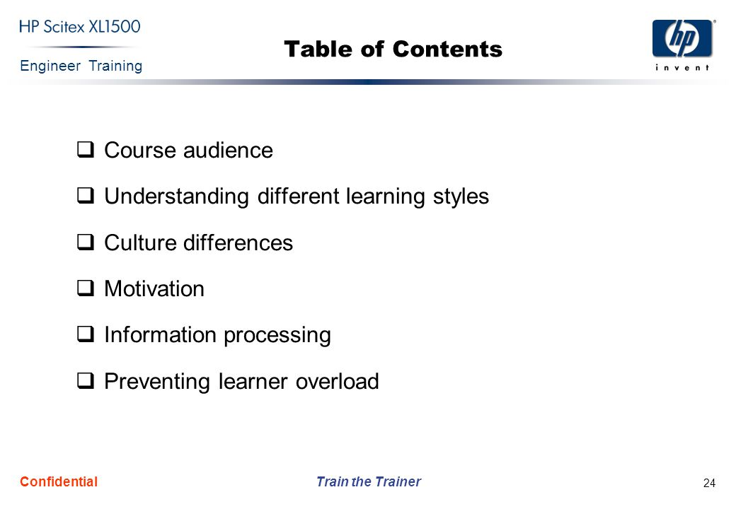 Understanding different learning styles Culture differences Motivation