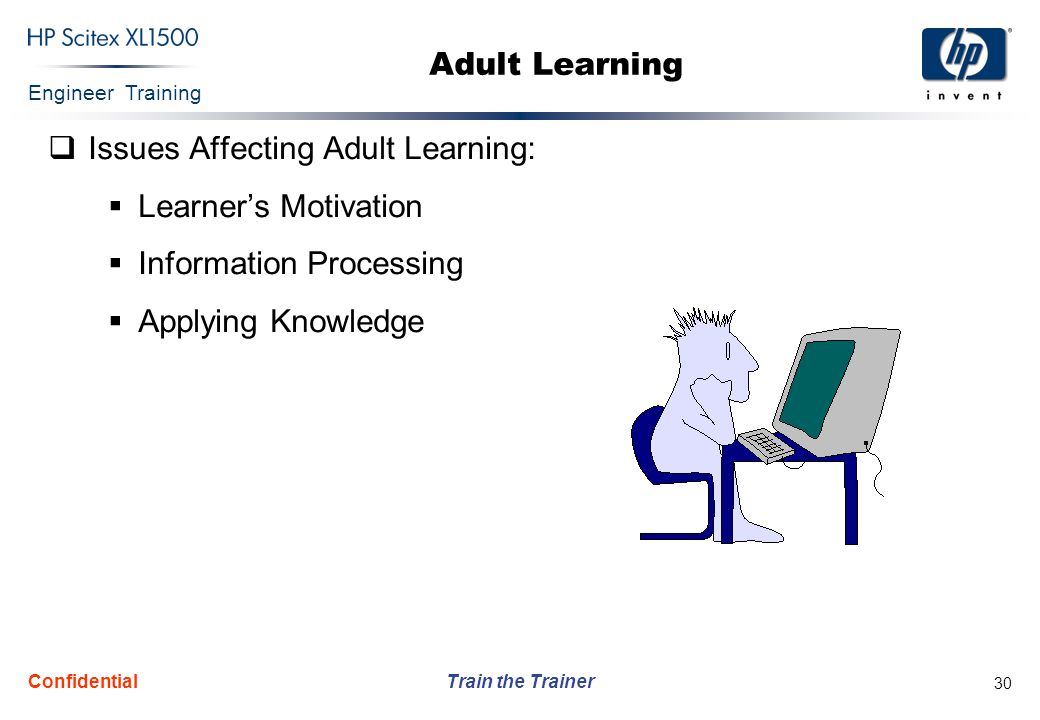 Issues Affecting Adult Learning: Learner's Motivation