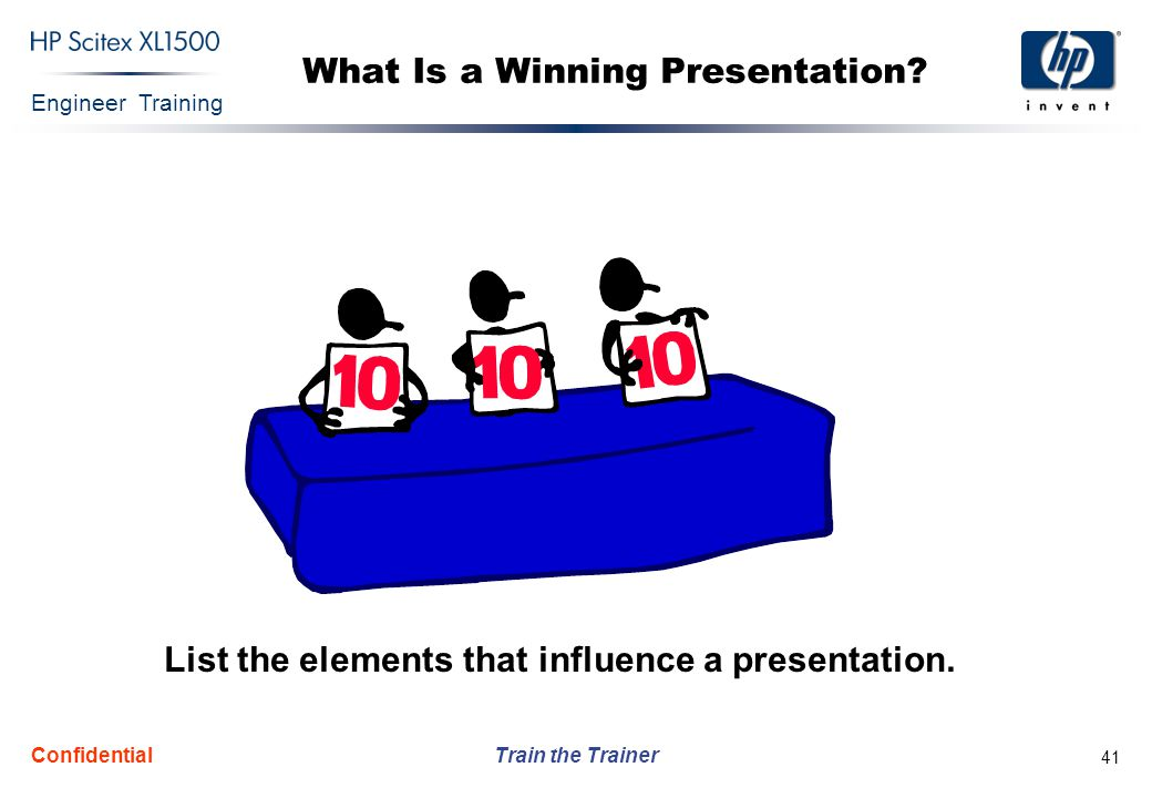 What Is a Winning Presentation