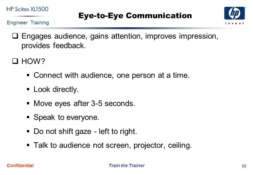 Eye-to-Eye Communication