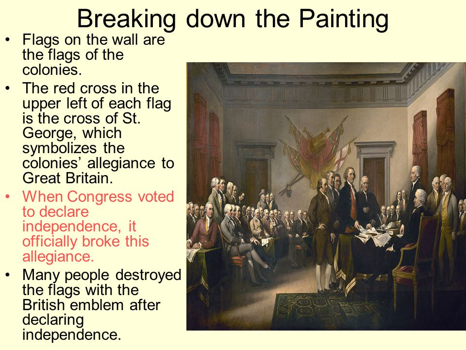 Breaking down the Painting