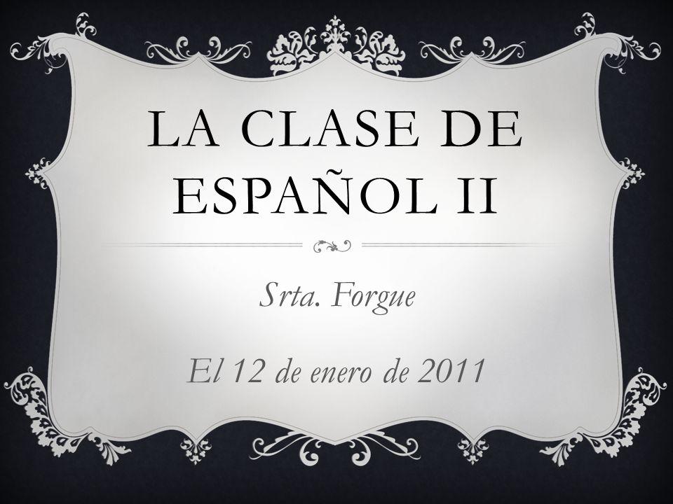 Srta. Forgue El 12 de enero de 2011