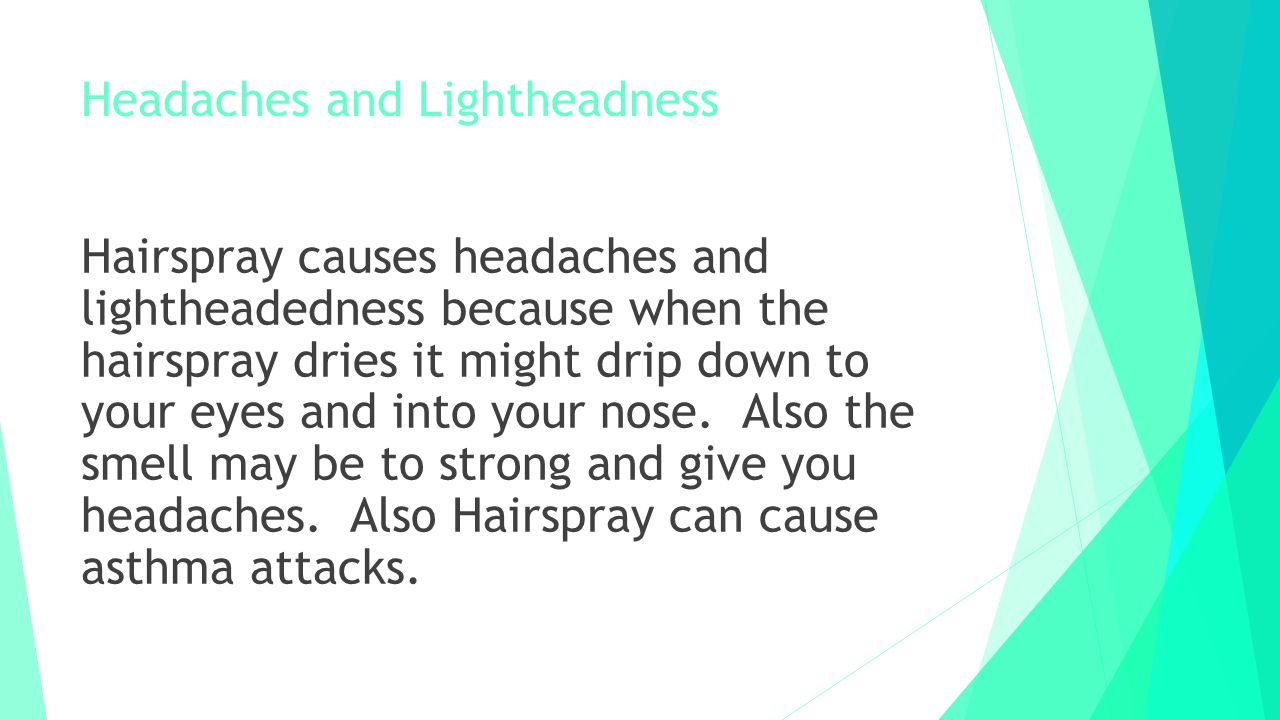 Headaches and Lightheadness