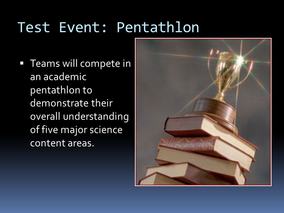 Test Event: Pentathlon
