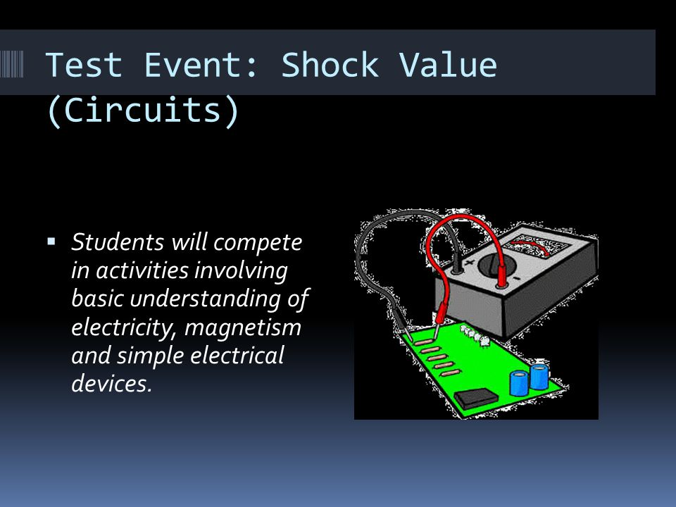 Test Event: Shock Value (Circuits)
