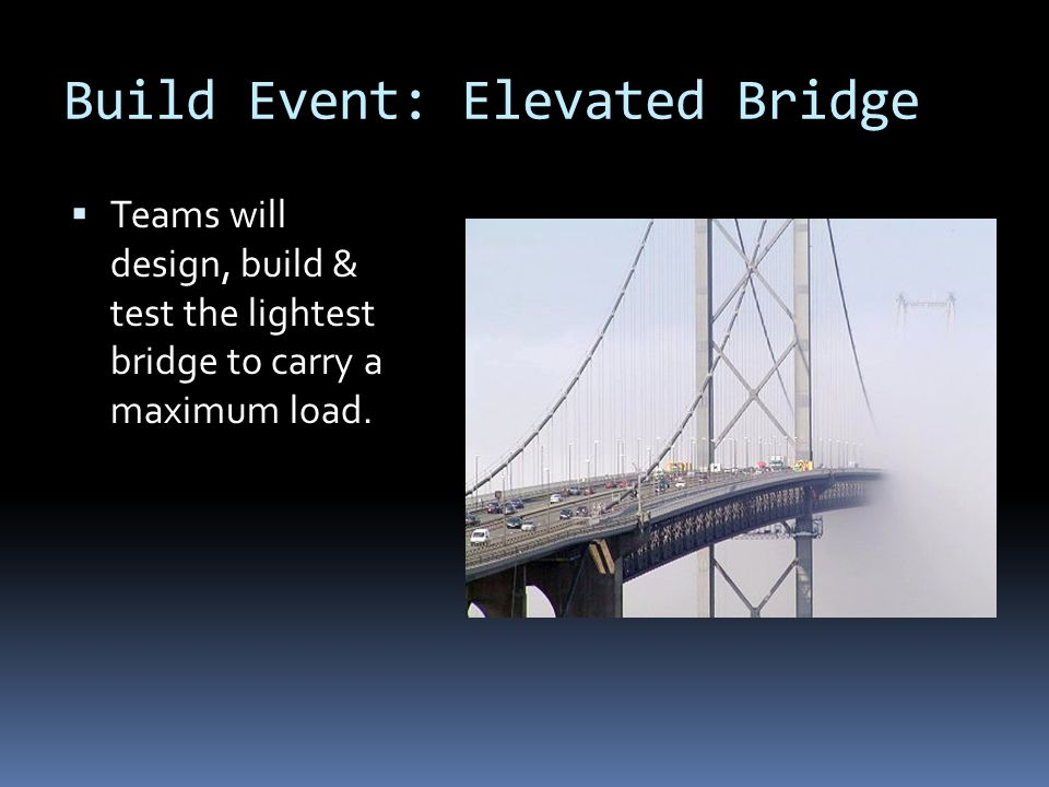 Build Event: Elevated Bridge