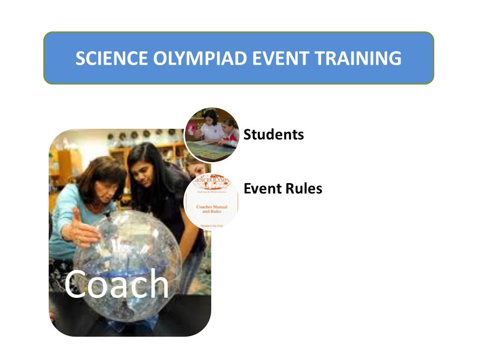 SCIENCE OLYMPIAD EVENT TRAINING