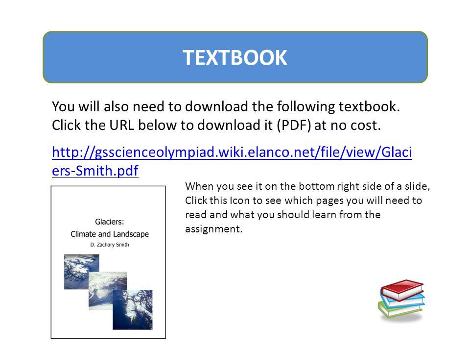 TEXTBOOK You will also need to download the following textbook. Click the URL below to download it (PDF) at no cost.