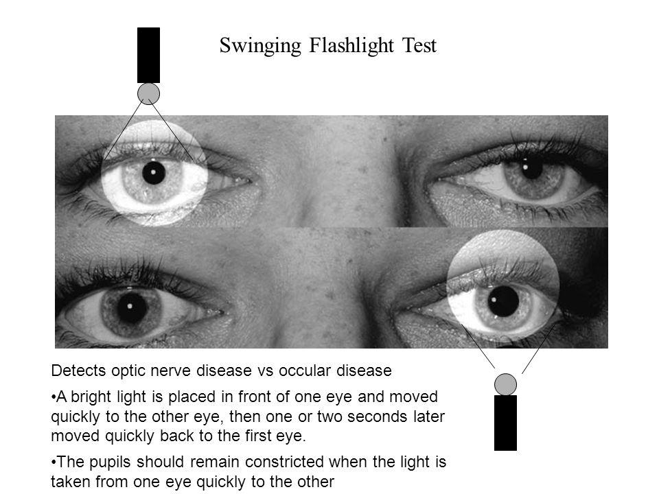Swinging Flashlight Test