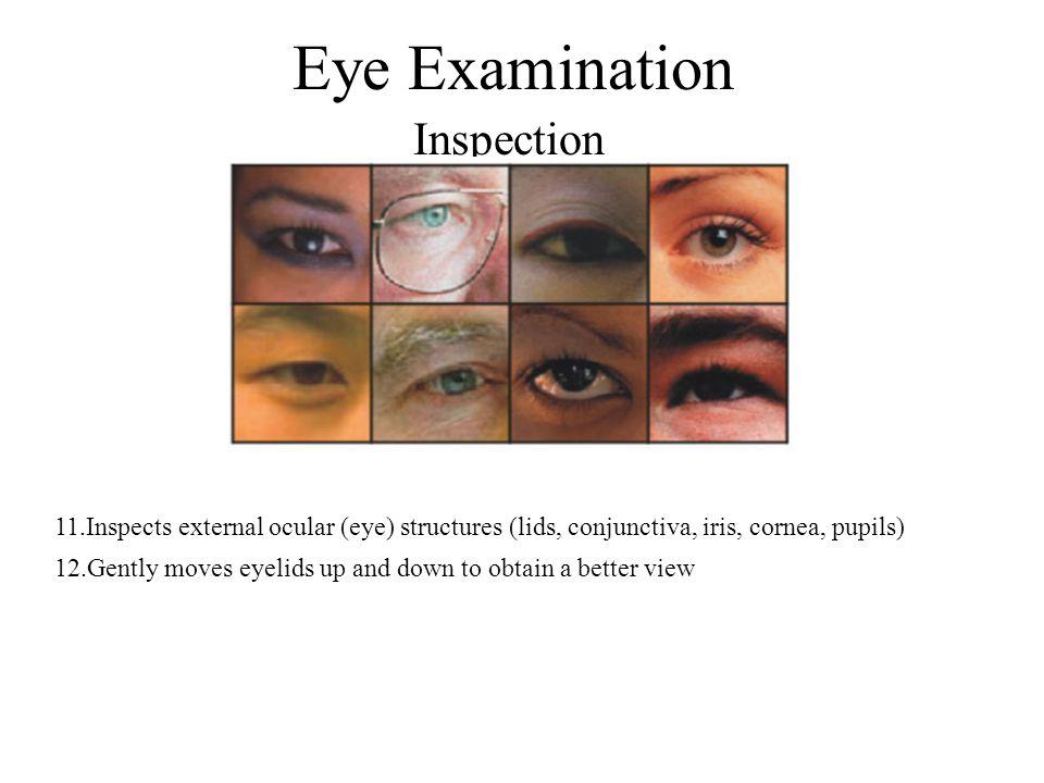 Eye Examination Inspection