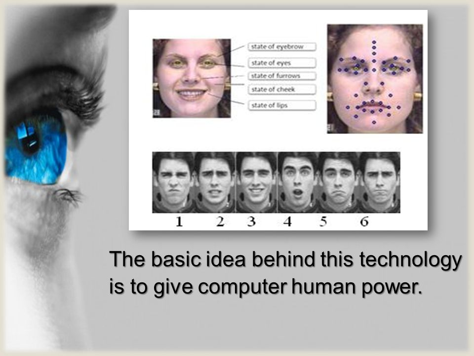 The basic idea behind this technology is to give computer human power.