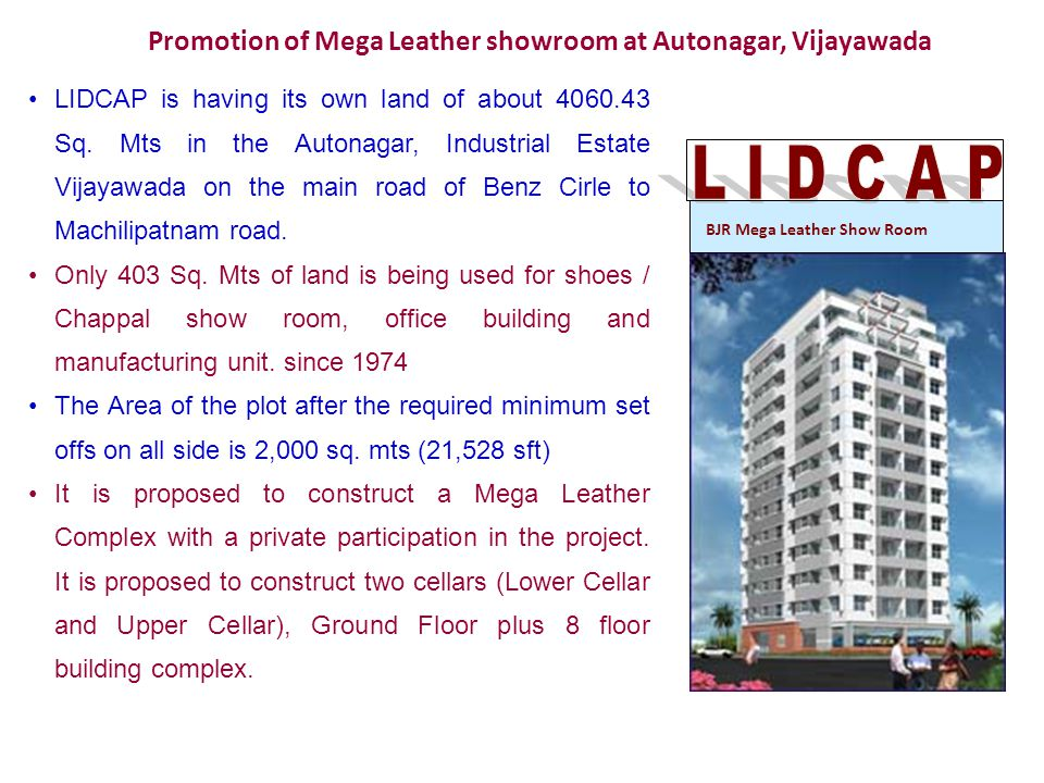 Promotion of Mega Leather showroom at Autonagar, Vijayawada