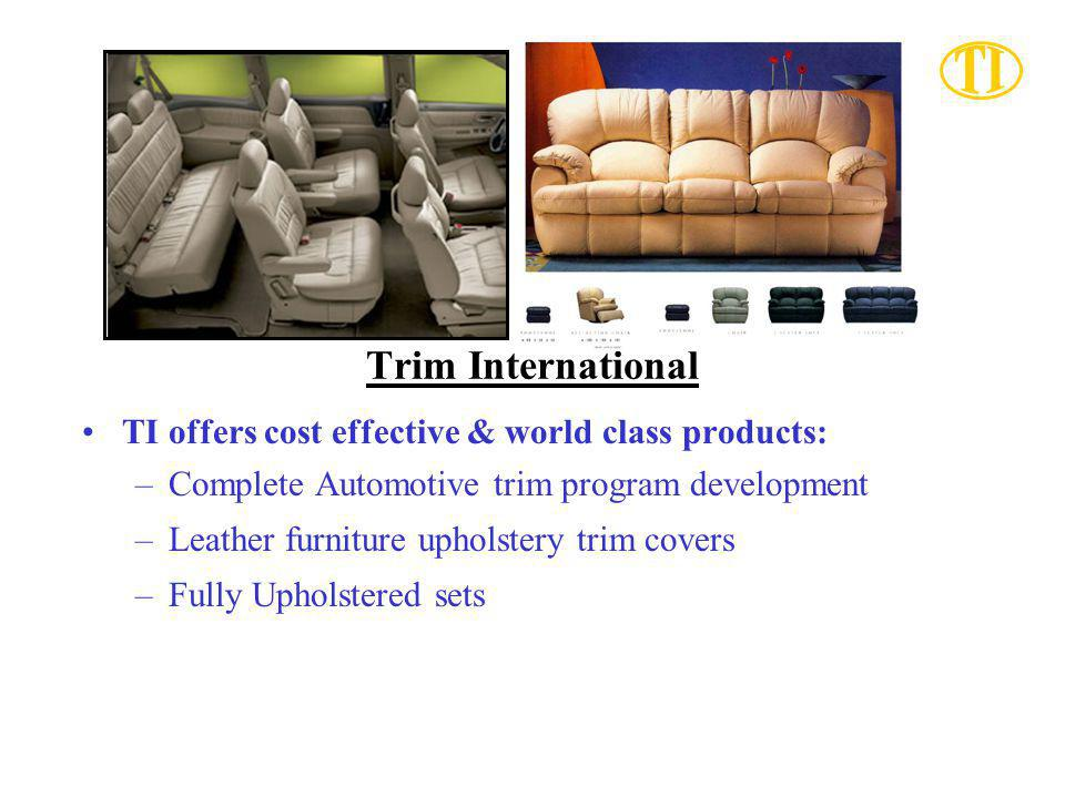 Trim International TI offers cost effective & world class products: