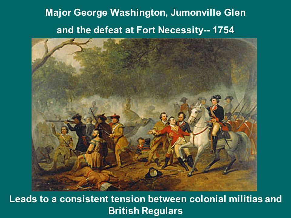 Major George Washington, Jumonville Glen