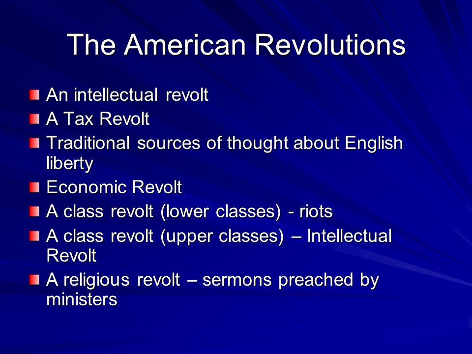 The American Revolutions