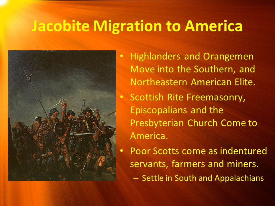 Jacobite Migration to America