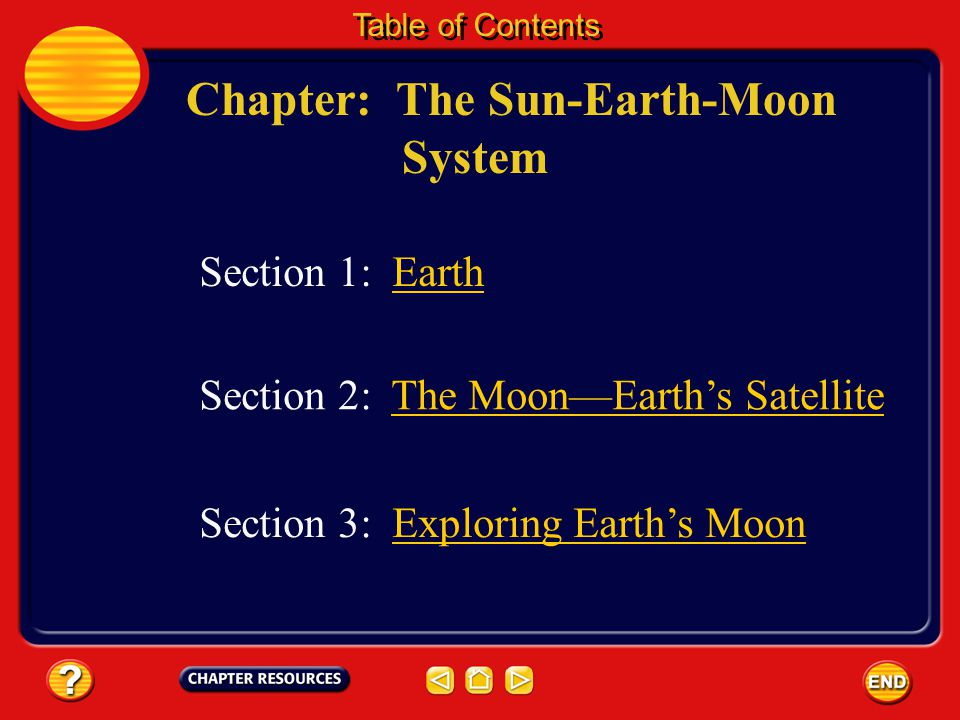 Chapter: The Sun-Earth-Moon System