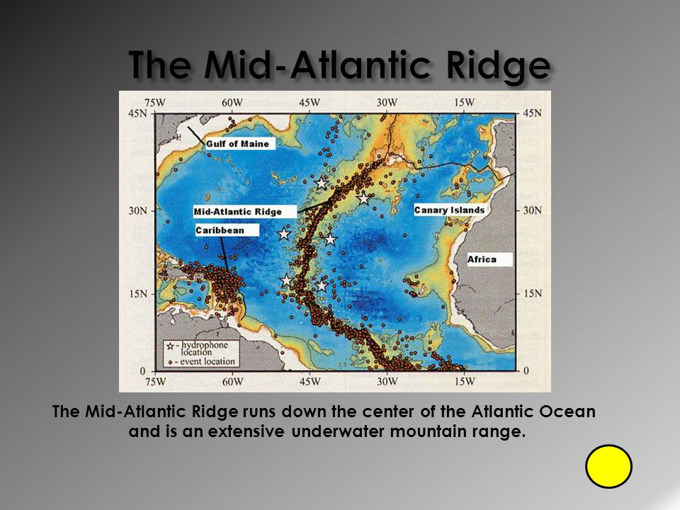 The Mid-Atlantic Ridge