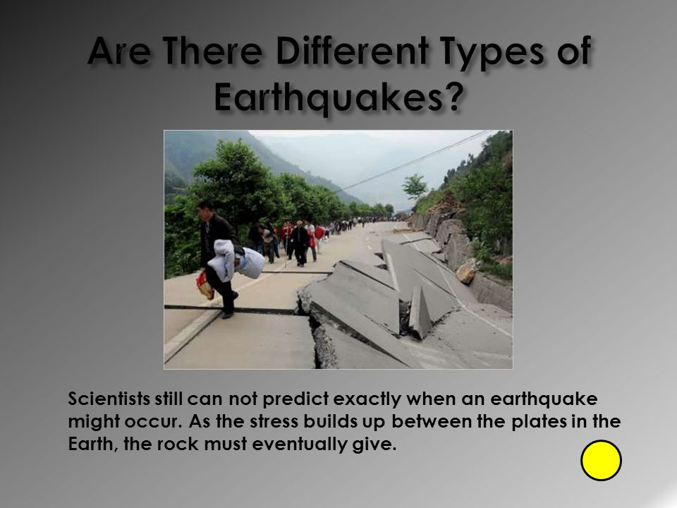Are There Different Types of Earthquakes