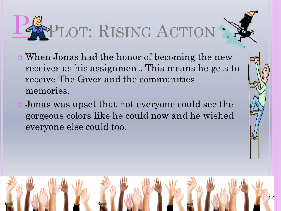 P Plot: Rising Action.