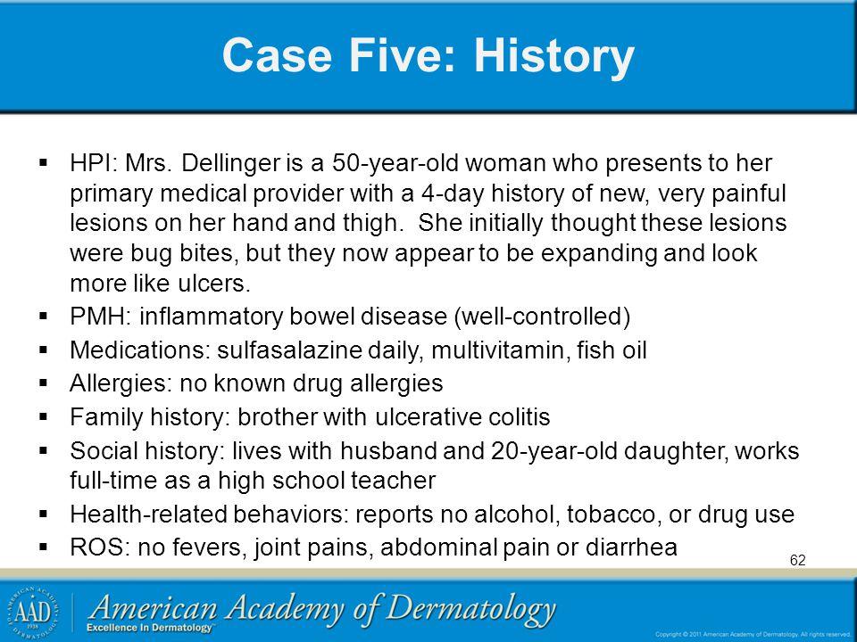 Case Five: History