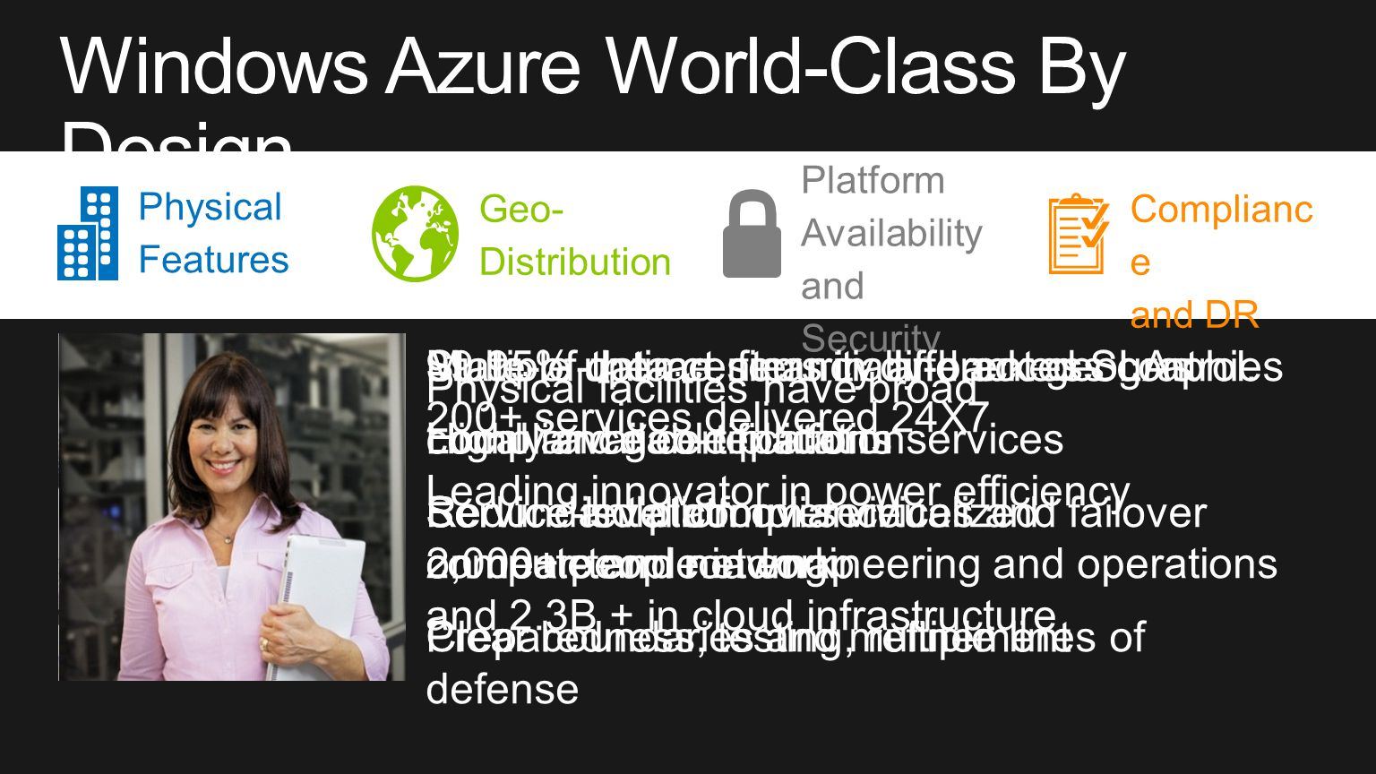 Windows Azure World-Class By Design