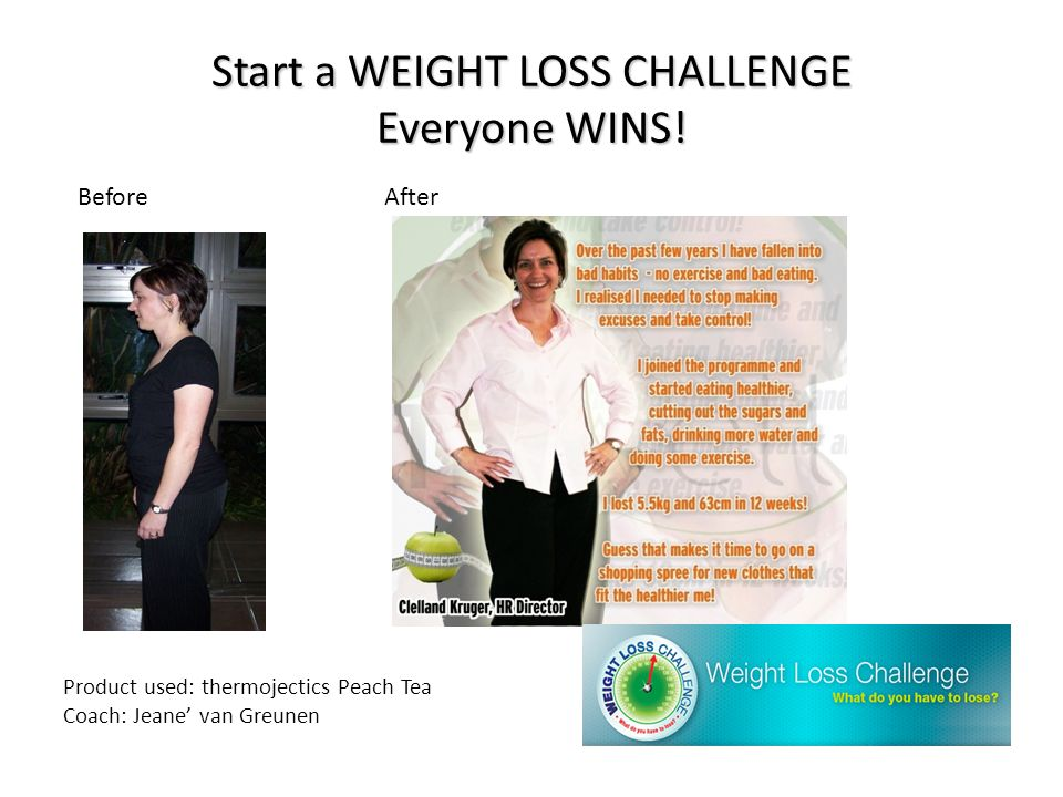 Start a WEIGHT LOSS CHALLENGE Everyone WINS!