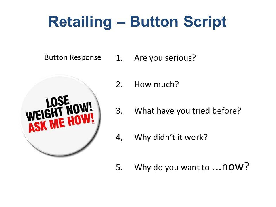 Retailing – Button Script