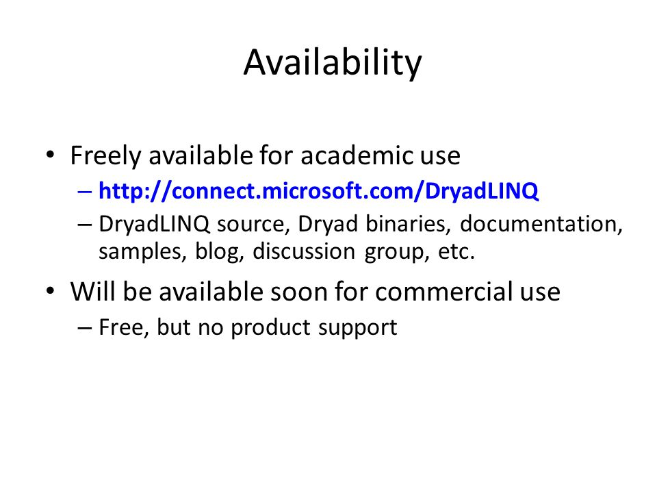 Availability Freely available for academic use