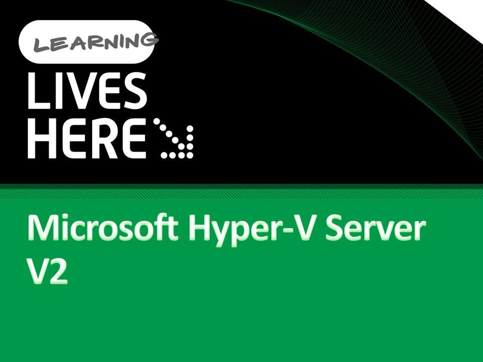 Microsoft Hyper-V Server V2
