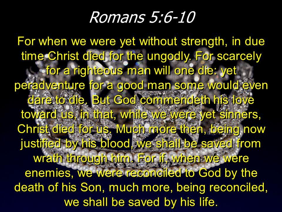 Romans 5:6-10