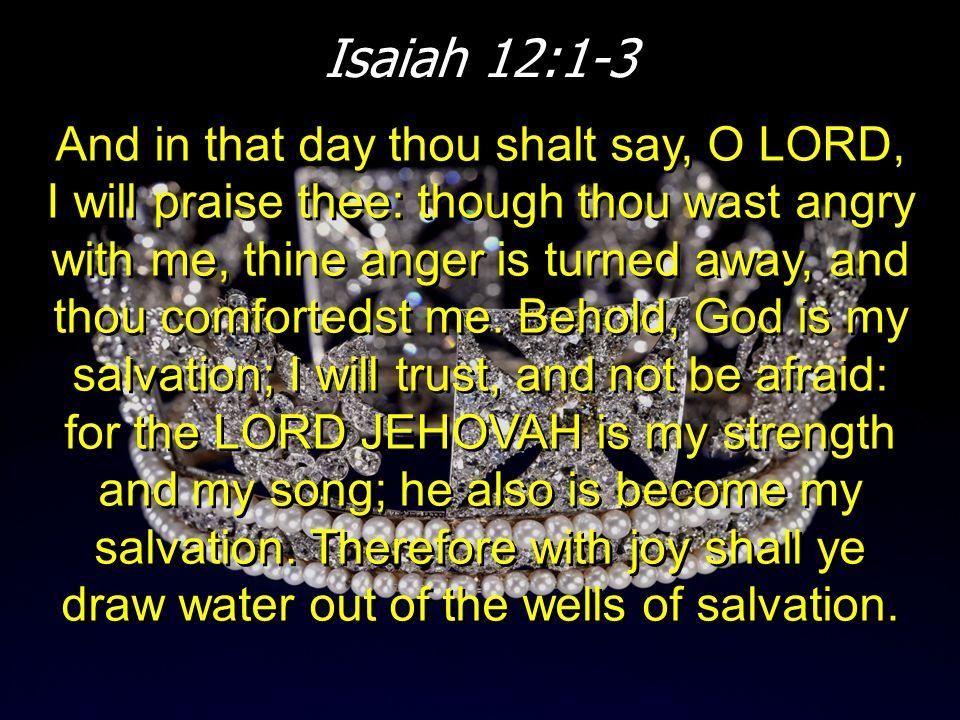 Isaiah 12:1-3