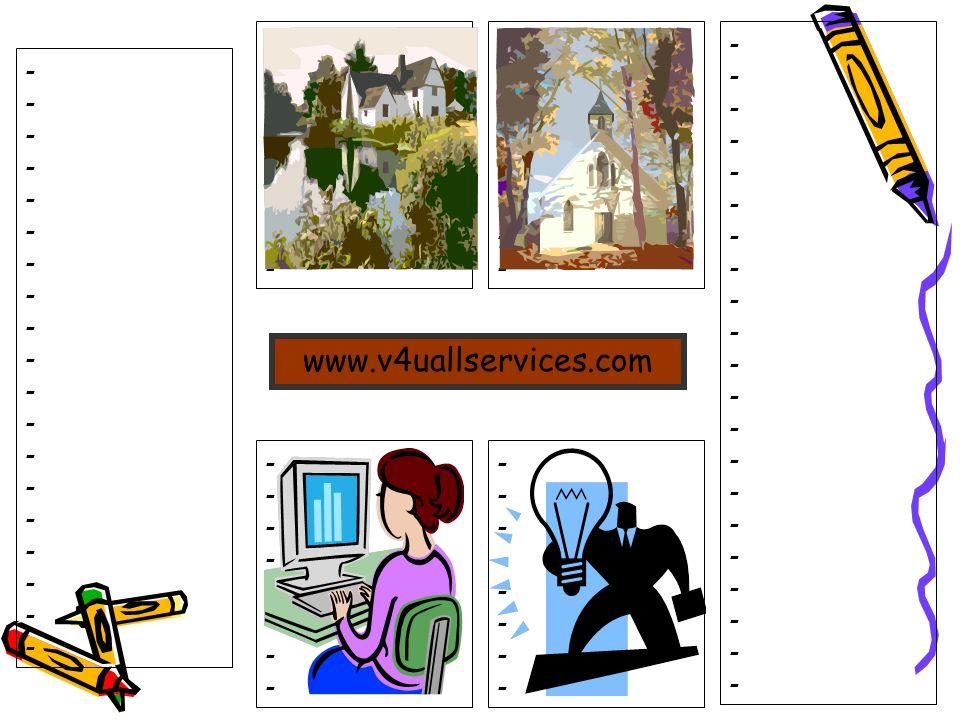- - - - www.v4uallservices.com - -
