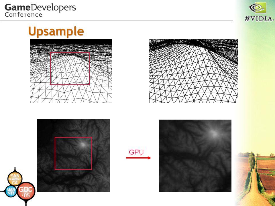 Upsample GPU